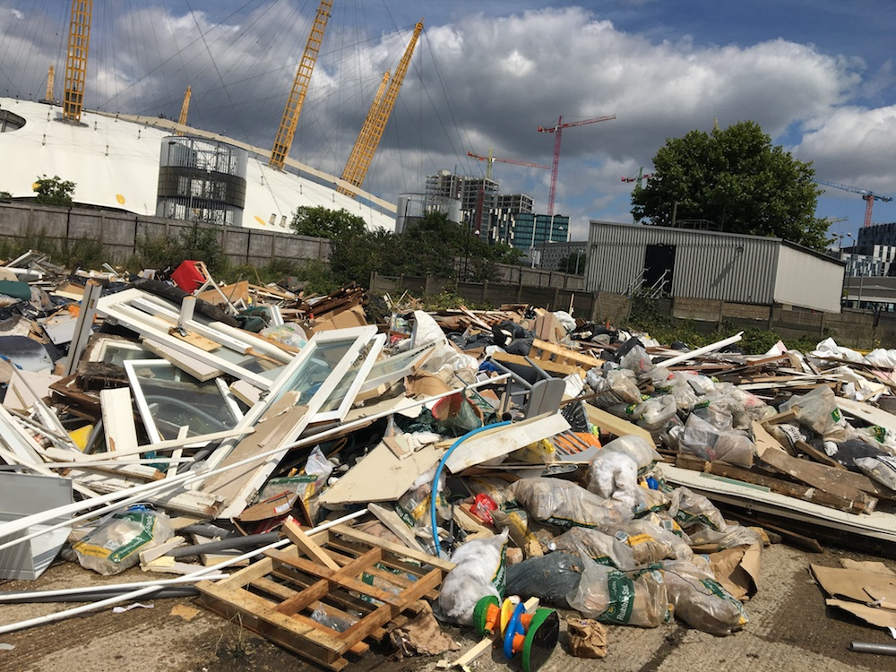 Organised Crime & Mass Fly Tipping